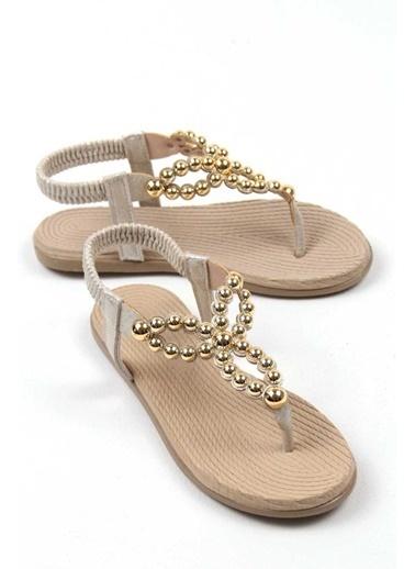 Gob London Sandalet Altın